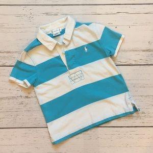 Shirts & Tops - SOLD  - Ralph Lauren Striped Rugby Shirt